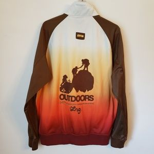 Vintage Lrg Roots People Outdoors Zip Up Jacket